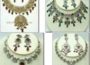 Fashion jewelry, hand embroidered accessories