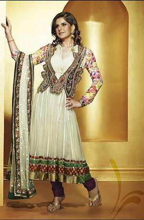 Salwar Suits Neck Designs 2014 for Wedding Photos Pics : Salwar
