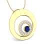 New Golden Zoom Pendant by Aurobliss online Jewelry shop