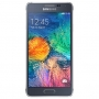 Samsung Galaxy alpha Black (Silver-66832)