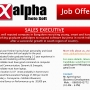 SALES EXECUTIVE IN ALPHAPHOTOSOFT