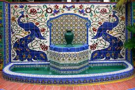 shivkripa is a leading manufcaturer & supplier of blue pottery murals have choice of styles and sizes in handmade blue pottery.