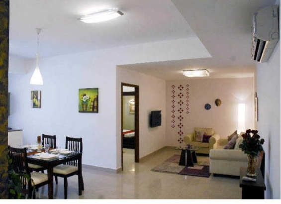 Weekly rental service apartment available in vasant vihar