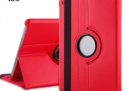 360 degree rotating case of ipad red