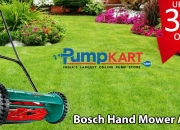 Get Bosch Hand Mower Online on Discounted Price