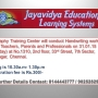 Handwriting workshop for the Teachers, Parents and Professionals