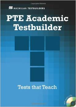 The pte academic testbuilder with cd