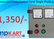 Buy online kaizen submersible pump control panel single phase (upto 1hp) in india