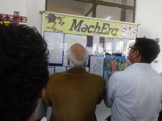 Mechera @ sms lucknow: department of mechanical engineering of school of management scienc