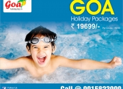 Book Goa summer holiday packages at Rs 19699 only