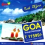Book Goa Travel Package at Rs 11599 for 03N/04D