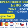European Higher Education Fair 2015 in Chennai