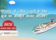 Singapore Tour with Cruise Package- Colorful Vacations