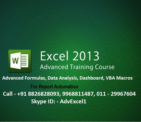 Excel Tutorial 2015