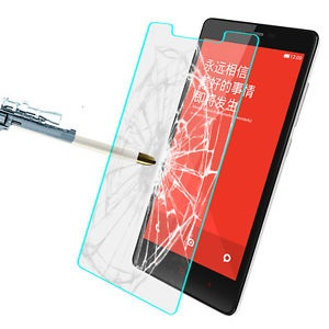 Tempered glass screen guard protector for redmi note 4g / 3g