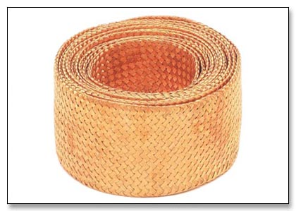 Braided copper wire for a variety of industrial applications