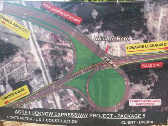 Land for sale in lko
