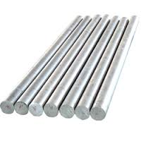 Aluminium rod, the white and light metal
