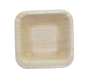 Disposable palm leaf plates and bowls