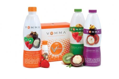 Organis liquid vitamins with mangosteen and minerals