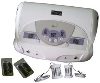 Jade projector like ceragem, heating mats, detox devices