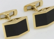 Gold & silver cufflinks