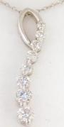 1/2 Carat Journey Diamond Pendant