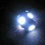 Techqi Car LED lamps T10 5050 5smd Super White