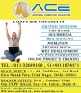 ACE  Best  Multimedia Institute in Tilak Nagar and in  Rohini.