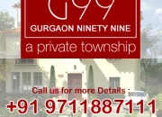 HCO: G99 Plots Gurgaon +91 9711884111 New Projects gurgaon