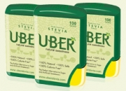 Uber is a natural sweetener and a sugar free product