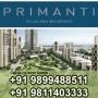 HCO: Tata Primanti Floors in Gurgaon +919811403333 Real Estate