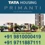 HCO: Tata Primanti Floors in Gurgaon + 91 9810000419 New Project Gurgaon