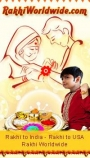 We outstretched us to deliver your Rakhi wishes prompt