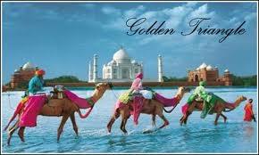 Golden triangle tour india  delhi agra jaipur haridwar tour