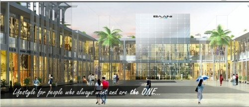 Baani the one, baani city center office space retail shops are availabe for sale