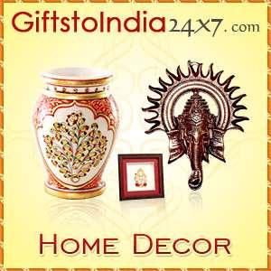Send home decor items through giftstoindia24x7.com