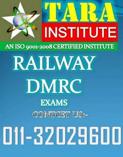Delhi metro best tara coaching for dmrc exams preparation 2012 in delhi