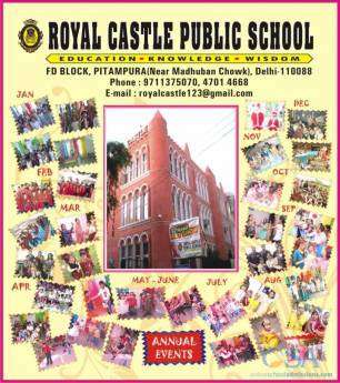 Royal castle public school pitampura