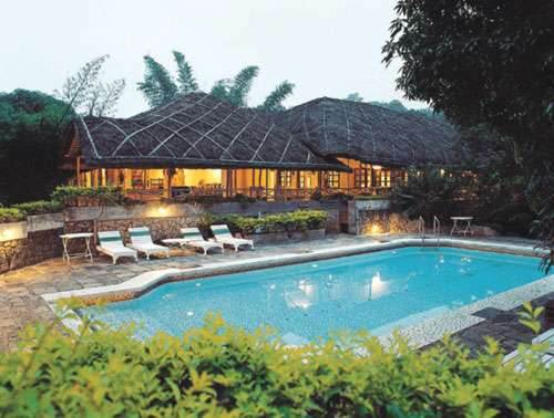 Luxury resort facilities at spice village
