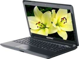 As new condition wipro h4700 laptop without any scratch...