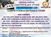TOP COACHING CLASSES FOR DSSSB, RAILWAY'S , UPSC