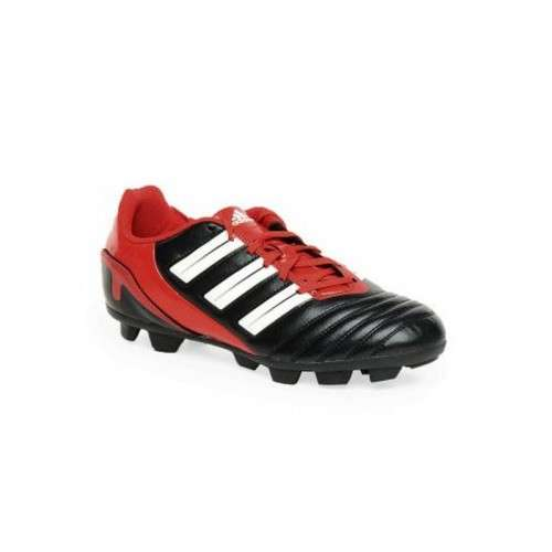 Adidas men black and red stylish sports shoes
