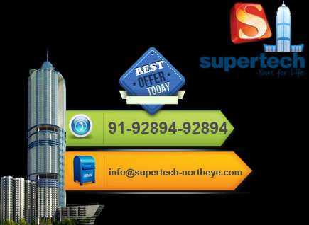 Best discount supertech north eye studio apartments call @ 9289492894