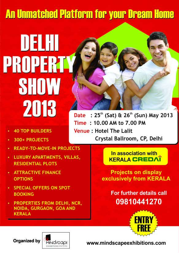 Delhi property expo 2013 - delhi (property exhibition)