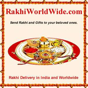Celebrations of rakhi with love and happiness