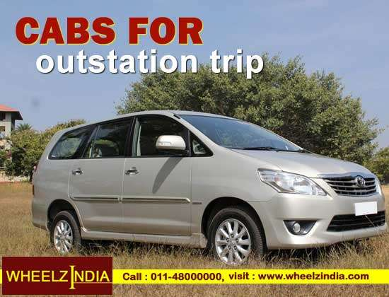 Hire online cabs for outstation with instant confirmation