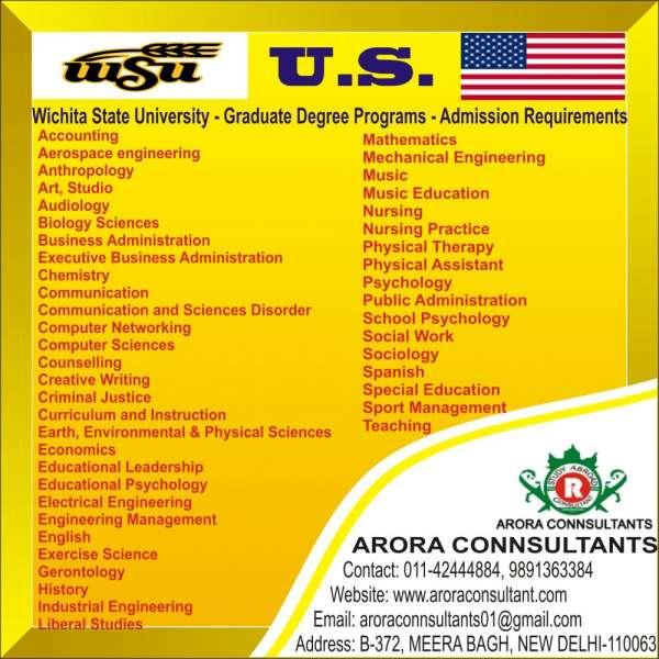 Wichita state university - graduate degree programs