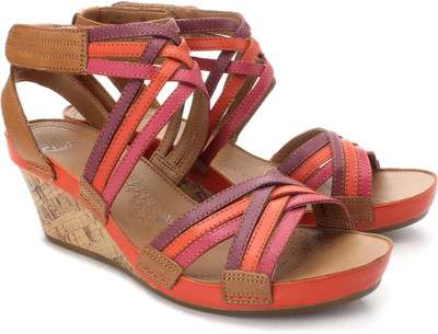 Clarks rusty free wedges, rs. 4999,adidas nubrs running shoes