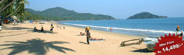 Goa holiday packages for 3n/4d at rs 14499 only
